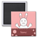 Bunny rabbit - Magnet