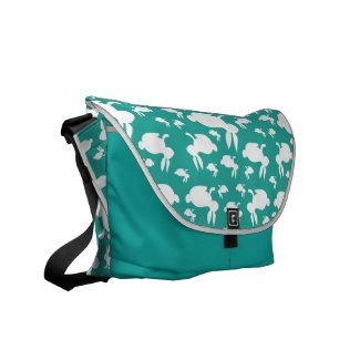 Bunny Rabbit Messenger Bag