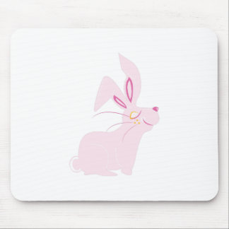 Bunny Rabbit Mouse Pad