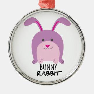 Bunny Rabbit Christmas Tree Ornament