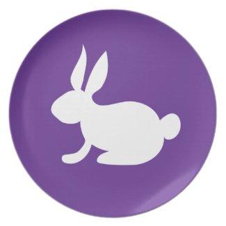 Bunny Rabbit Party Plates
