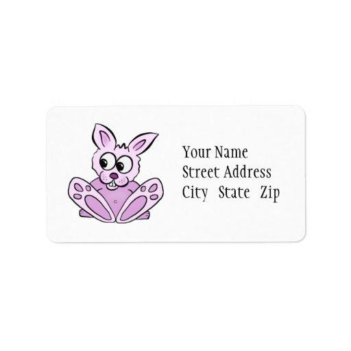Bunny Rabbit Personalized Address Labels