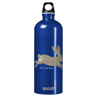 Bunny Rabbit (personalized) Aluminum Water Bottle