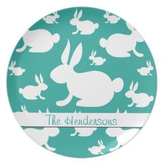 Bunny Rabbit Plate