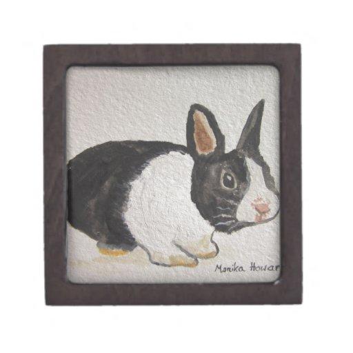 Bunny rabbit premium trinket box
