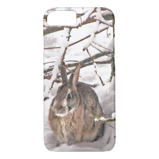 Bunny Rabbit Seeking Shelter iPhone 7 Case