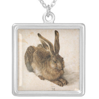 Bunny Rabbit Silver Plated Necklace