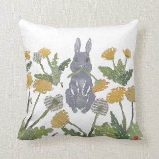 Bunny, Rabbit, Woodland Pillow