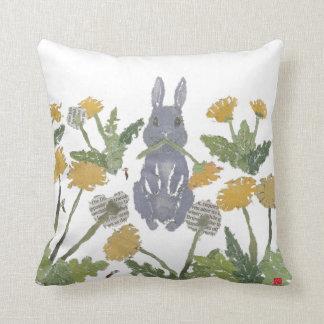 Bunny, Rabbit, Woodland Throw Pillow