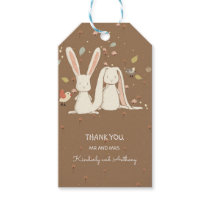 Bunny Rabbits Couple Cute Sweet Lovely Gift Tags