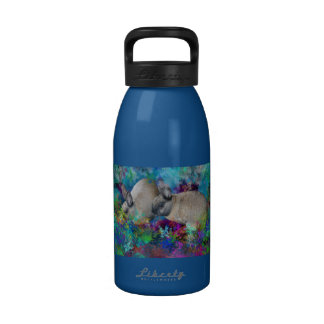 Bunny Rabbits in Fantasyland: A Hare Tale Reusable Water Bottles