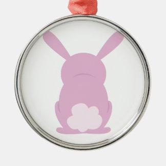 Bunny Rear Christmas Tree Ornament