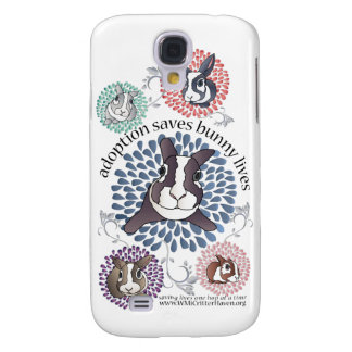 Bunny Rescue iPhone 3G Hard Case Galaxy S4 Covers