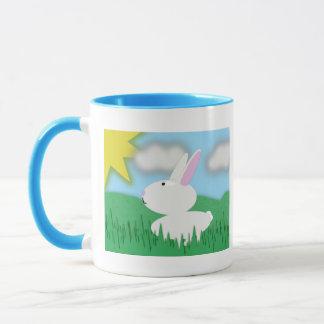 Bunny Scene Mug
