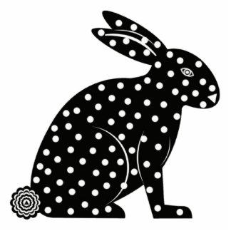 Bunny Sculpture Photo Cutouts