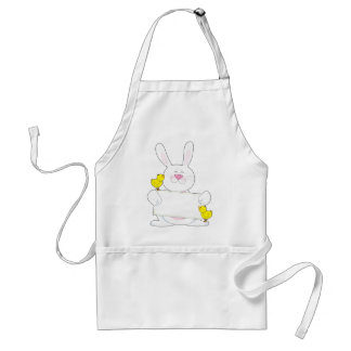 Bunny Sign Adult Apron