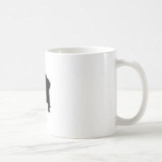 Bunny Silhouette Mugs