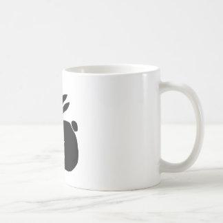 Bunny Silhouette Coffee Mugs
