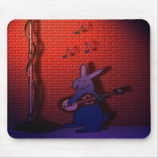 BUNNY SINGS THE BLUES MOUSE PADS