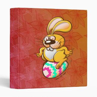 Bunny Sitting on an Easter Egg Binder