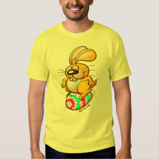 Bunny Sitting on an Easter Egg T-shirt
