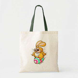 Bunny Sitting on an Easter Egg Tote Bag