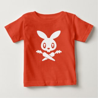 Bunny Skull Infant T-shirt