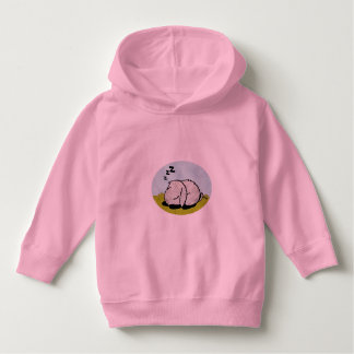 Bunny sleeping hoodie
