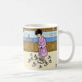 Bunny Slippers Kitchen Coffee Mug