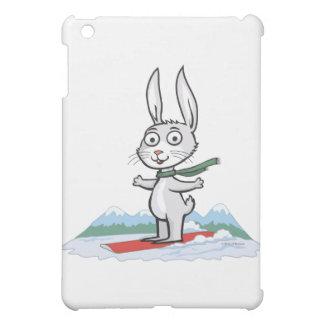 Bunny Snowboarder iPad Mini Cases