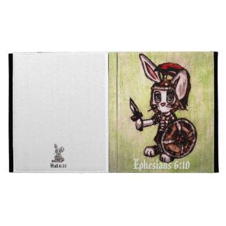 Bunny Soldier iPad case