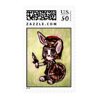 Bunny Soldier Postage