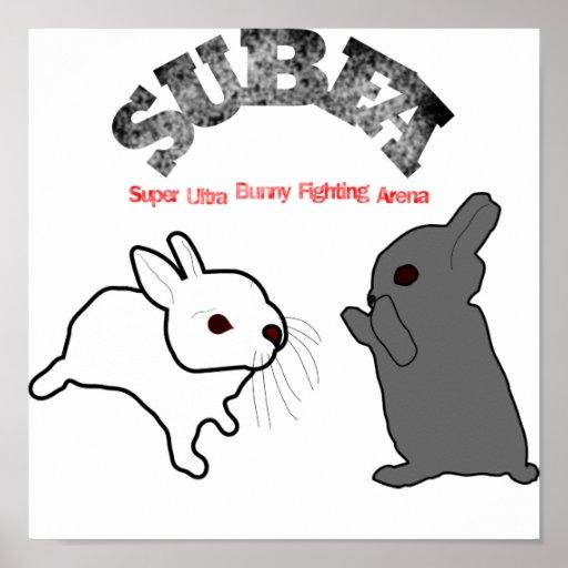bunny, subfa print