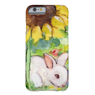 Bunny & Sunnflower Barely There iPhone 6 Case