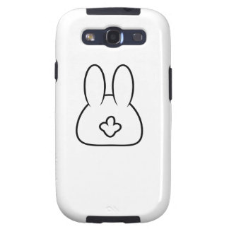 Bunny Tail Galaxy SIII Cases