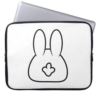 Bunny Tail Laptop Sleeve