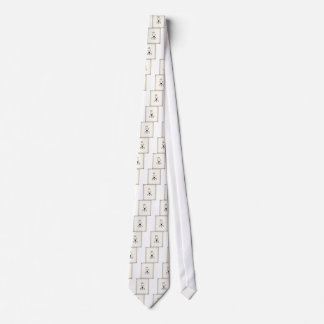 Bunny text and keyboard heart tie