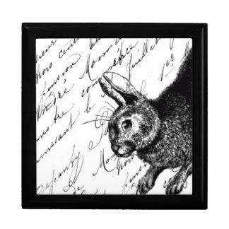 Bunny Tile Box Trinket Boxes