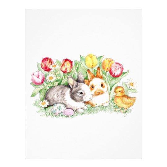 Bunny Time Magnet Flyer