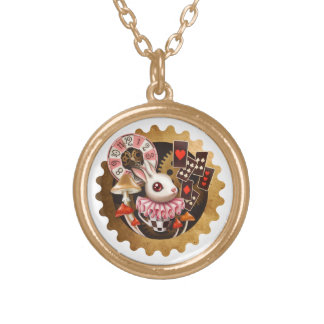 Bunny Time Pendant Necklace