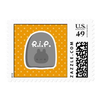 Bunny Tombstone Stamps