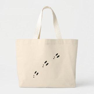 Bunny Tracks Large Tote Bag