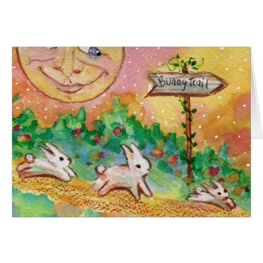 Bunny TRail Card