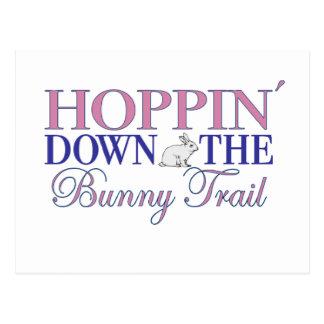 Bunny Trail Postcard