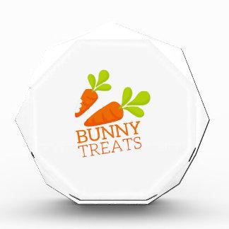 Bunny Treats Acrylic Award