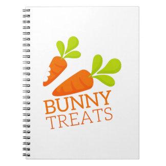 Bunny Treats Note Books