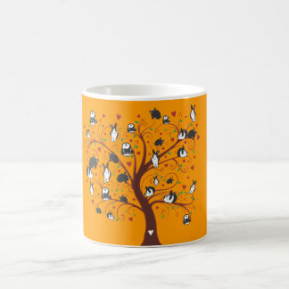 BUNNY TREE COFFEE MUG