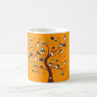 BUNNY TREE COFFEE MUGS