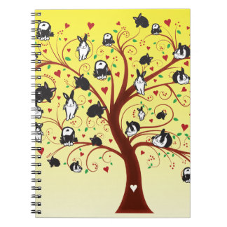 BUNNY TREE NOTE BOOK