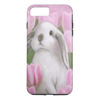 Bunny & Tulips iPhone 7 Plus Case